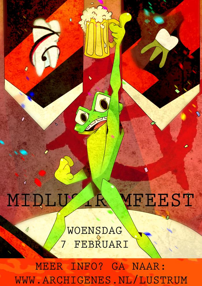 Midlustrumfeest ticketverkoop