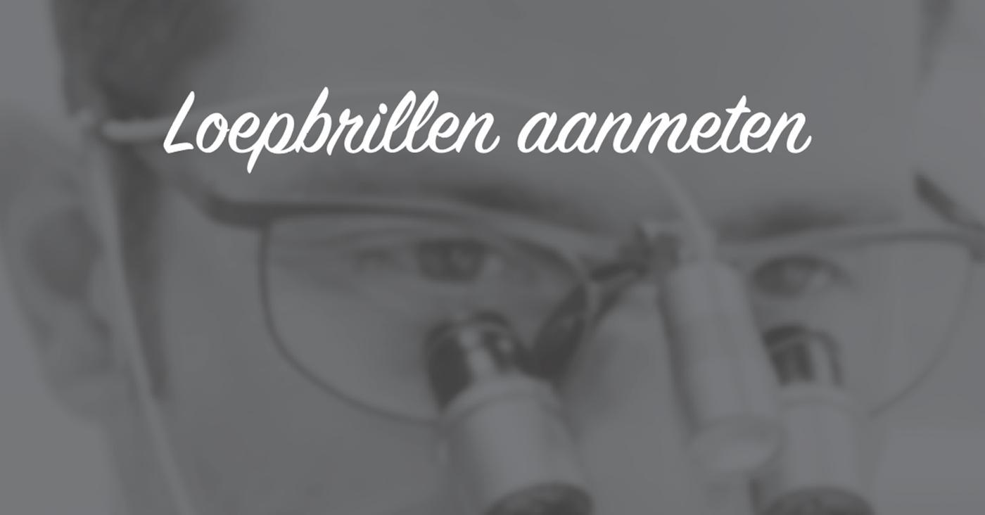 LET OP: gewijzigde datum Aanmeten loepbrillen
